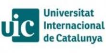 Universidad Internacional de Cataluña. Máster Erasmus Mundus