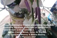 Propuesta floral de nuestras Event Planner Martha Monroy y Consuelo Monroy