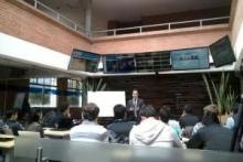 21 Trading Coach en el Business Center en la Universidad de La Sabana