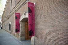 Fachada principal de la sede de la Universidad Nebrija en el centro de Madrid