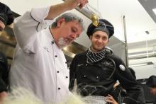 Chef Academy - A Chef explaining