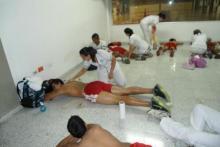 Prácticas de Masaje Deportivo en escenarios reales