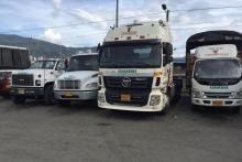Flota de camiones de enseñanza